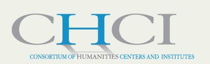 Consortium of Humanities Centers and Institutes