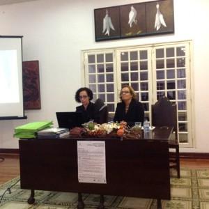 Professoras Filomena Gonçalves e Ana Banza. Foto Maria Isabel roque