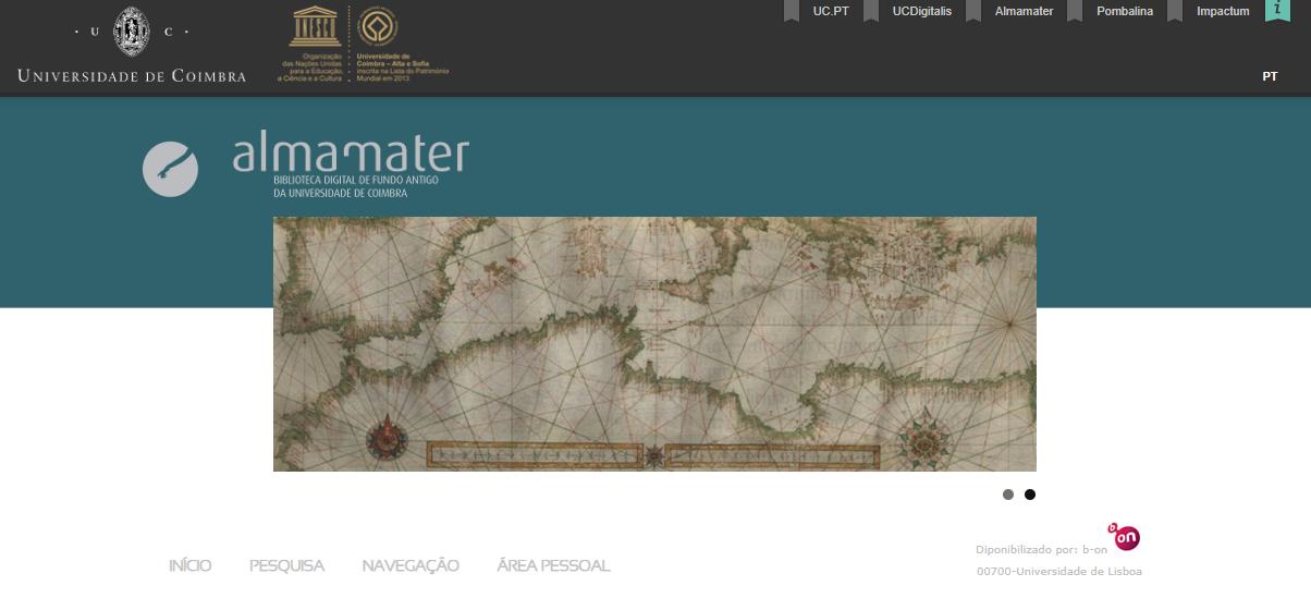 Almamater Biblioteca Digital de Fundo Antigo da Universidade de Coimbra